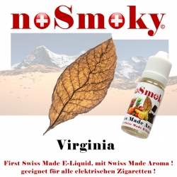 Virginia - E-Liquid - noSmoky (Swiss Made)