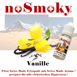 Vanille - E-Liquid - noSmoky (Swiss Made)