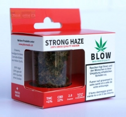 BLOW STRONG HAZE RED