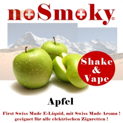 noSmoky (Swiss Made) E-Liquid Shake & Vape - Apfel