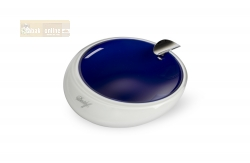 Davidoff Murano Glass Ashtray blue and opal