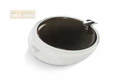 Davidoff Murano Glass Ashtray grey and opal