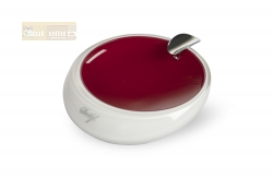 Davidoff Murano Glass Ashtray red and opal