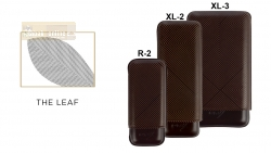 Davidoff Cigar Cases Leaf